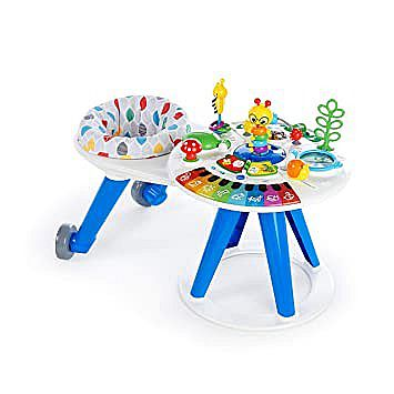 Baby Einstein Around We Grow 4-in-1 Baby Walker & Activity Table