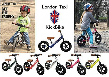 London Taxi Balance Bike (Red)